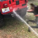 miniature pour Pas moyen de laver sa Jeep tranquillement
