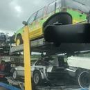 miniature pour Un camion de voitures de films sur l'autoroute