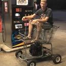 miniature pour Un caddie de supermarché motorisé