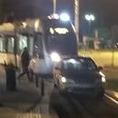 voiture-garee-voie-tramway