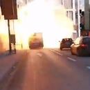 miniature pour Un bus au gaz explose