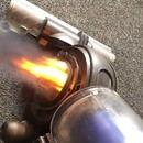 Un aspirateur dyson qui craches des flammes