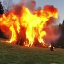 allumer-feu-tyrolienne-fusee
