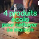 miniature pour 4 produits écolo pour nettoyer sa maison