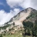 Un éboulement de rochers en Inde