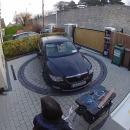 Une plateforme tournante pour sortir sa voiture