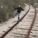 miniature pour Un homme percuté par un train