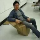 chaise-carton