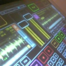 table-mixage-tactile-multitouch-transparente