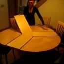 table-ronde-retractable