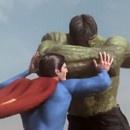 miniature pour Superman vs Hulk - Le combat