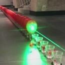 miniature pour Eclater une ligne de ballons au laser