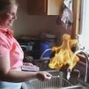 Mettre le feu à l'eau