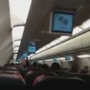 miniature pour L'intérieur d'un avion quand un moteur brule