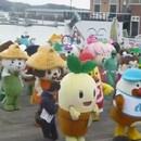 miniature pour Le plus grand flash mob de mascottes