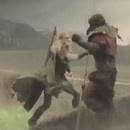 Le nouveau cri de Wilhelm avec des chèvres