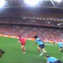 miniature pour Une caméra sur la tête de l'arbitre au Rugby