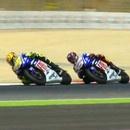 miniature pour Dernier tour en Moto GP entre Rossi et Lorenzo