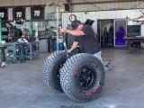 Un Segway équippé de grosses roues